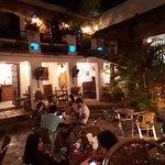 Spanish patio, Falafel