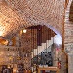 La cave voutée très typique d'Arras