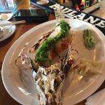 Castaway's Lion Fish sushi roll