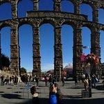 Aquädukt von Segovia Foto