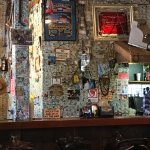 The Bar with Dollars on the Wall