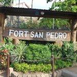 Fort San Pedro sign