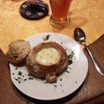 The Fränkische Käsesuppe... Excellent!