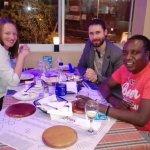 Diners enjoying a meal at Ocean Basket Umhlanga Village