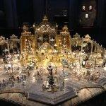 Throne of Grand Mogul, baroque jewelry