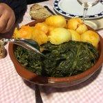 Patatas y grelos