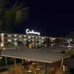 Nighttime view from Thunderbird Bilding