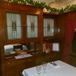 Private dining car for eight passengers