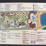 Hotelplan mit Restaurants und den Öffnungszeiten