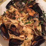 Pappardelle with Seafood