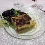 Diversas posibilidades de menu en el restaurante y cafeteria