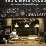 Mercado da RIbeira, a pastry paradise, Best Brownie I ever had