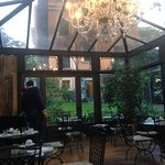 Breakfast at the fantastic garden...