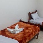 lovely towel sculptures - comfy beds