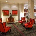 Cozy lobby.