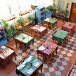 Breakfast area from mezzanine