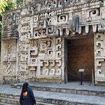 Duplicate of a Mayan ruins