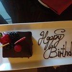 Торт на День Рождения от Руководства отеля! )
