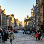 The Royal Mile from Edinburgh Castle to Palace of Holyroodhouse