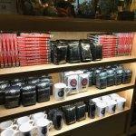gift shop shelf