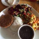 Paz y Flora Restaurante Vegetariano Foto