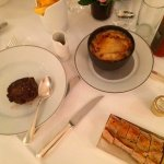 French onion soup, steak, & frites