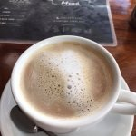 Americana Coffee with Steamed Milk