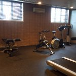 Gym - pretty small, but has standard equipment