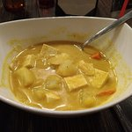 Tofu yellow curry is soooo good