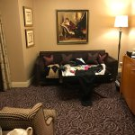 Deluxe Jr. Suite living, bedroom toilet bathroom and hallway