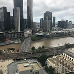 Yarra River view from 21st Floor
