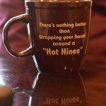 The Hinee mug says it all!