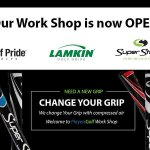 Players Golf Change Grips on Your Golf Clubs using Air Compressor