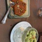 Carrot Halwa and Kulfi