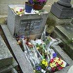 Grabmal von Jim Morrison seit 1991