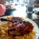 Mandhi rice with thandoor chicken - RECOMMENDED