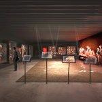 La salle du Permien dans le nouveau musée : ouverture le 7 juillet 2018  (Architecte © Projectil