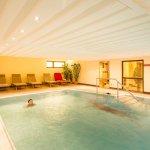Wellnessbereich - Pool - Hotel Munte am Stadtwald
