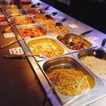 Restaurant chinois, buffet à volonté, les plats principaux