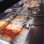 Restaurant chinois, buffet à volonté, les entrées