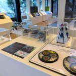 Some of the exhibits in the visitor centre