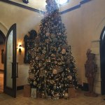 Beautiful Christmas Tree inside the main entrance
