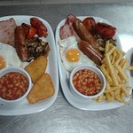 Tomik English Breakfast available all day