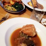 Roast Lamb with Sides