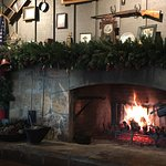 Love the fire in the winter...and the food was great!