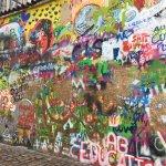 John Lennon wall - symbol of freedom