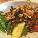Ancient grains bowl with chicken