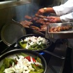 Macaluso's sausage and peppers!