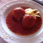 Our famous Macaluso's Meatballs