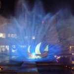 Light and Sound Show at the Jungceylon Sailing Ship Model